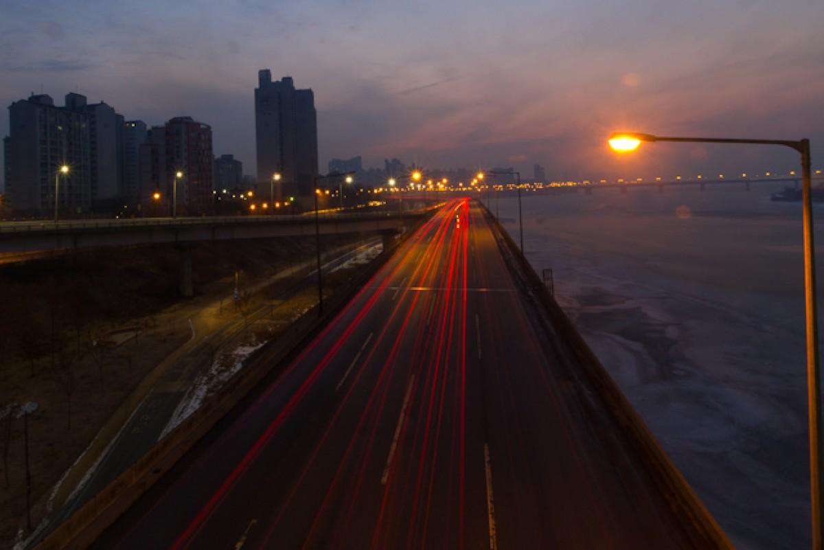 POTD day 33 Sunrise over the Han River
