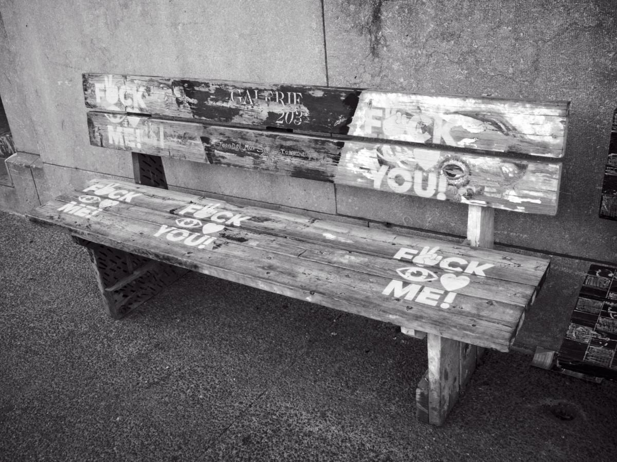 Cursing Bench