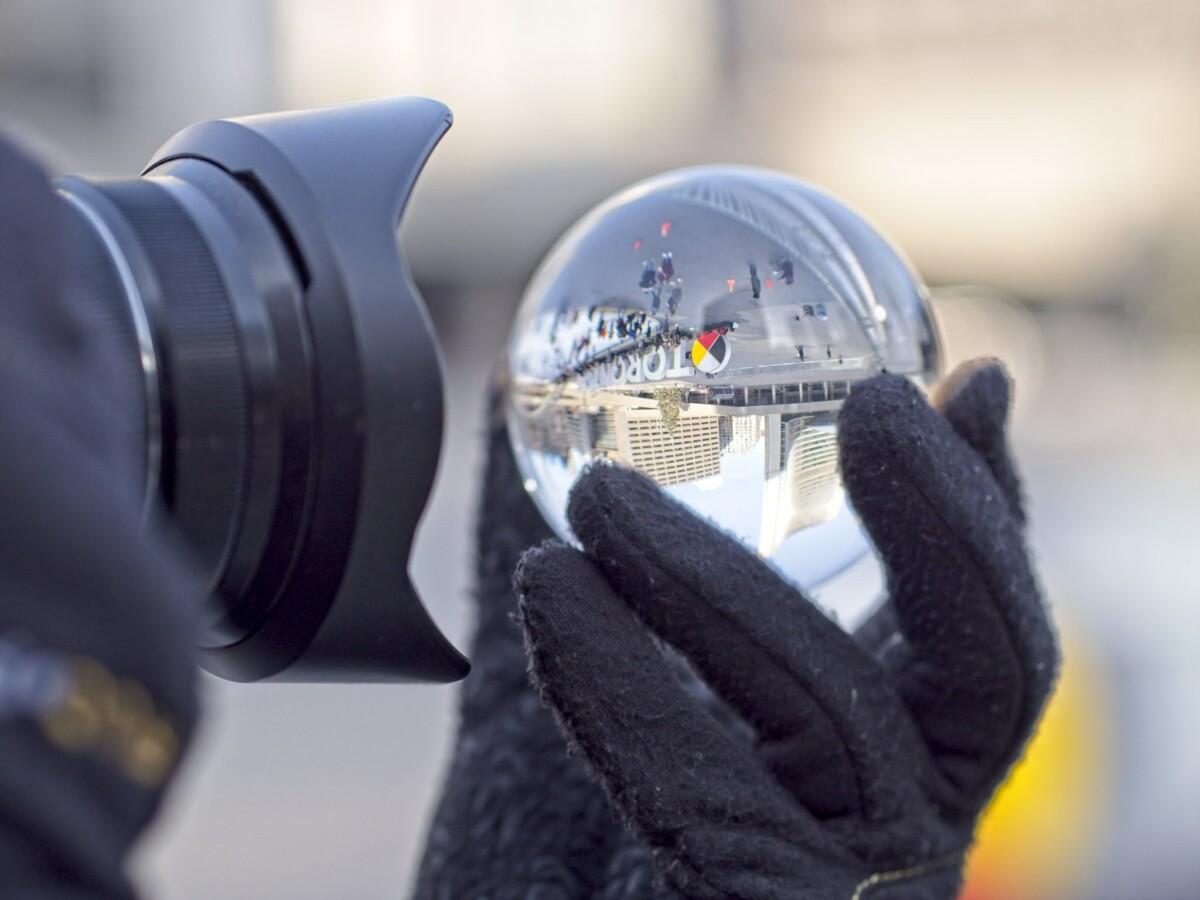 Shooting the Lensball