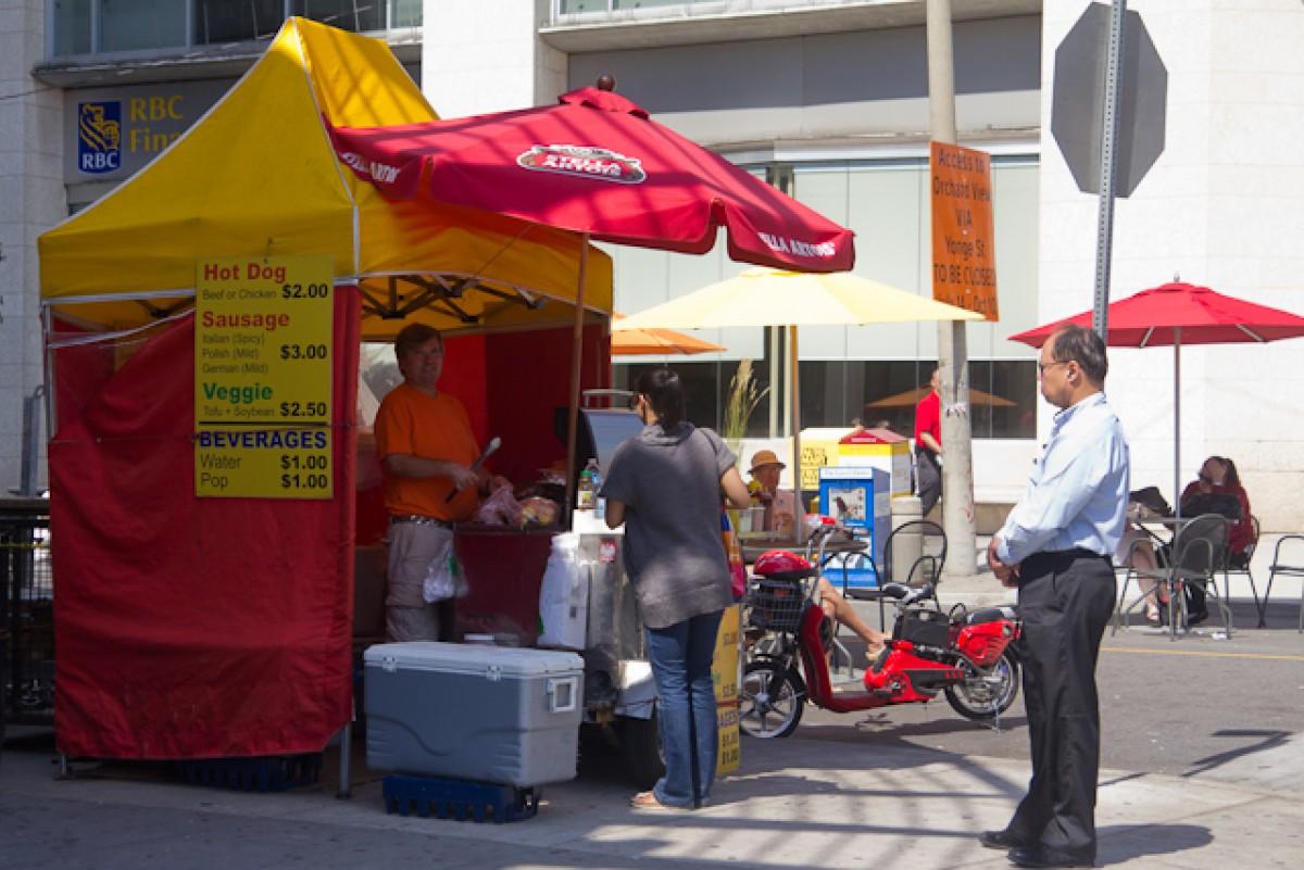 POTD day 206 Hot Dog Stand