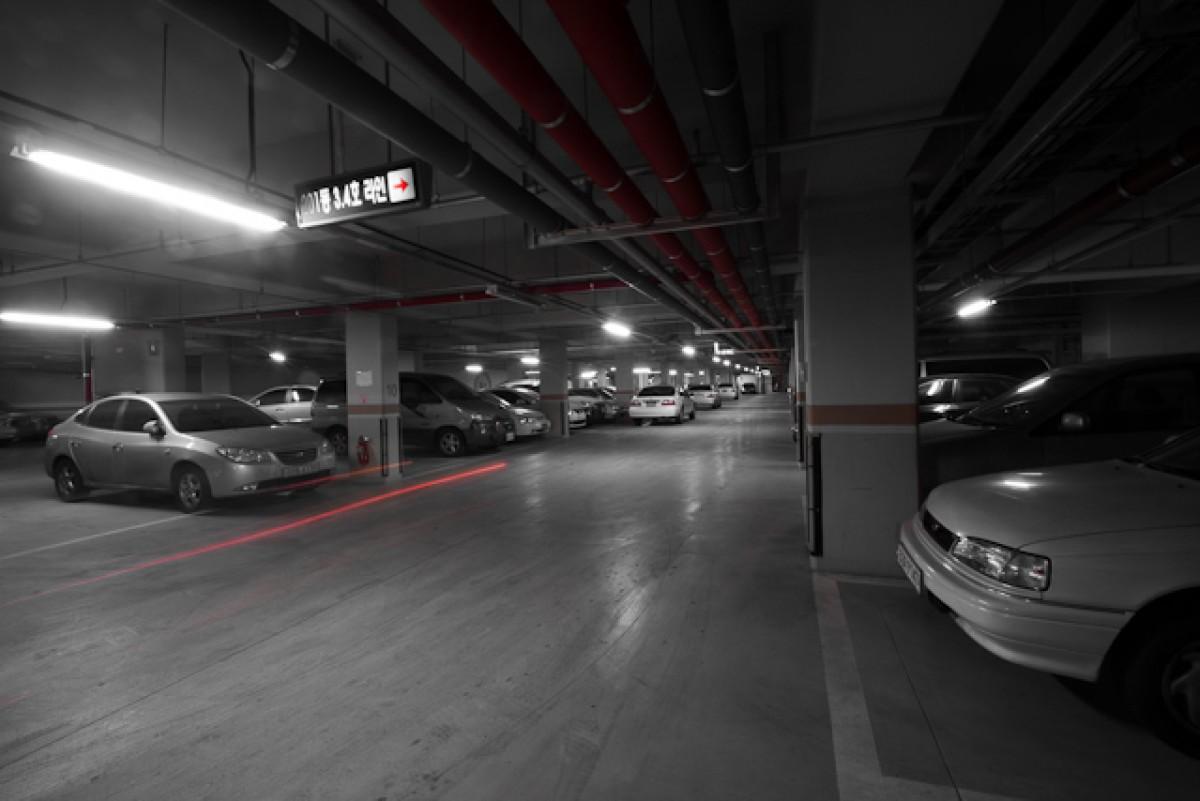 POTD day 17 underground parking