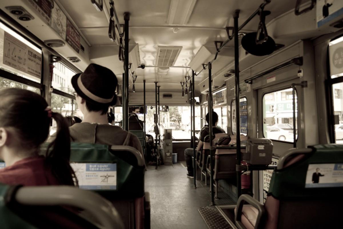 POTD day 163 Shuttle bus ride