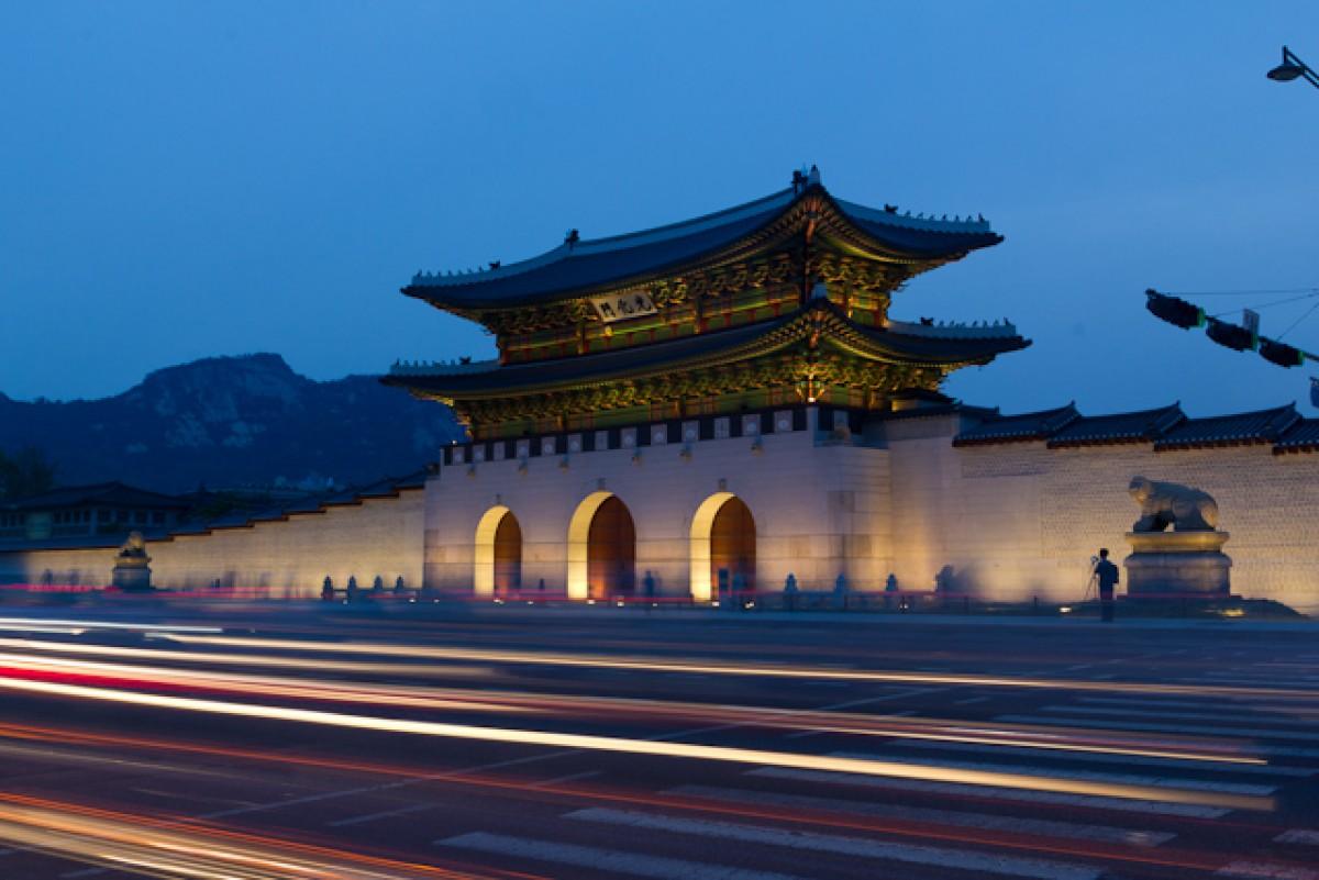 POTD day 144 Gyungbukgung palace at Night