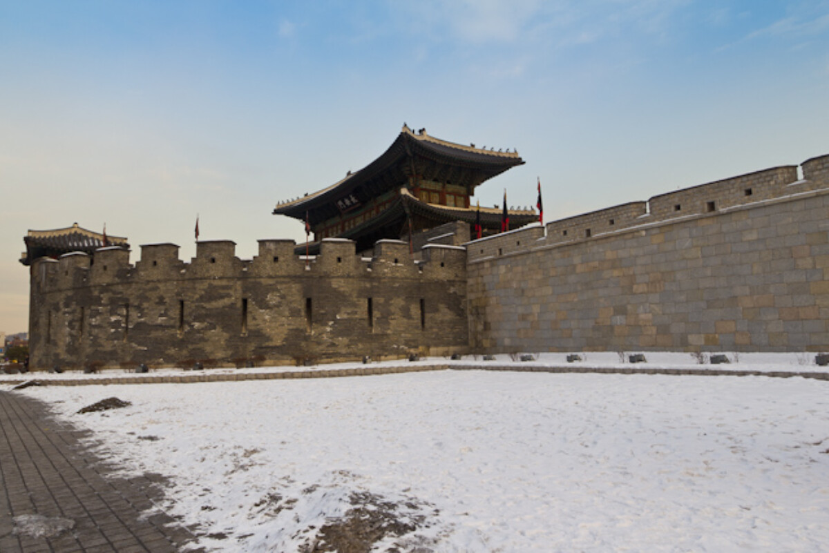 POTD day 13 Hwaseong Fortress