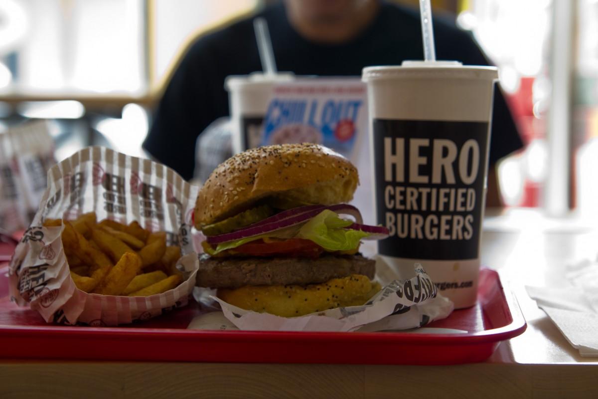 Hero Certified Burger