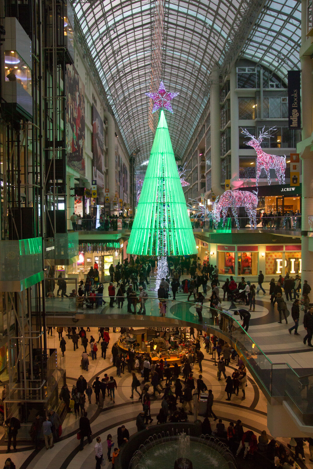 Merry Christmas at The Eaton Center