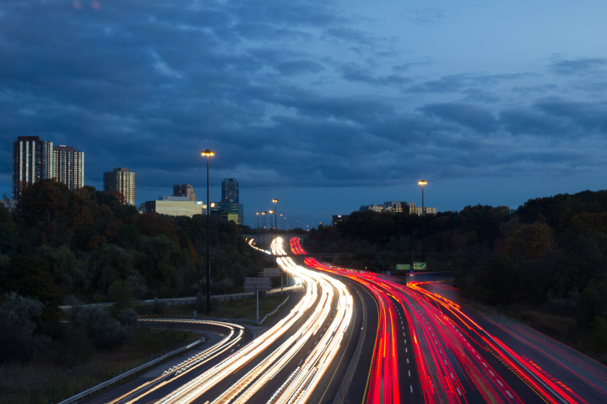 Light Trails - DVP and Lawrence