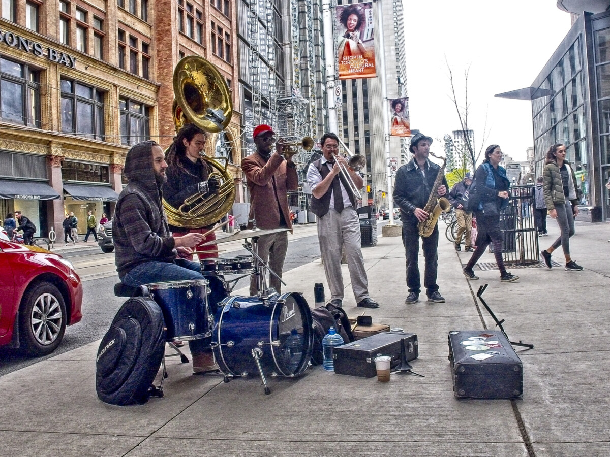 Brass Band Buskers
