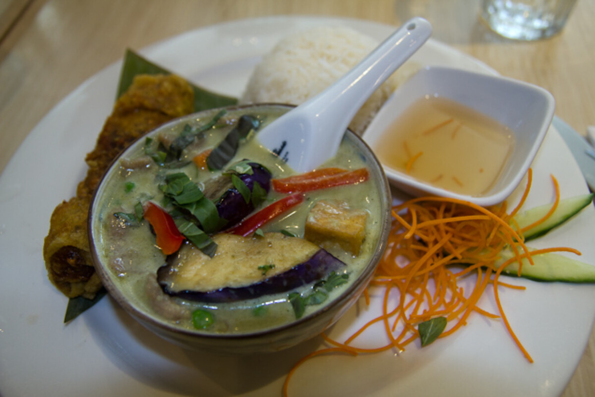 POTD day 202 Thai Green Curry