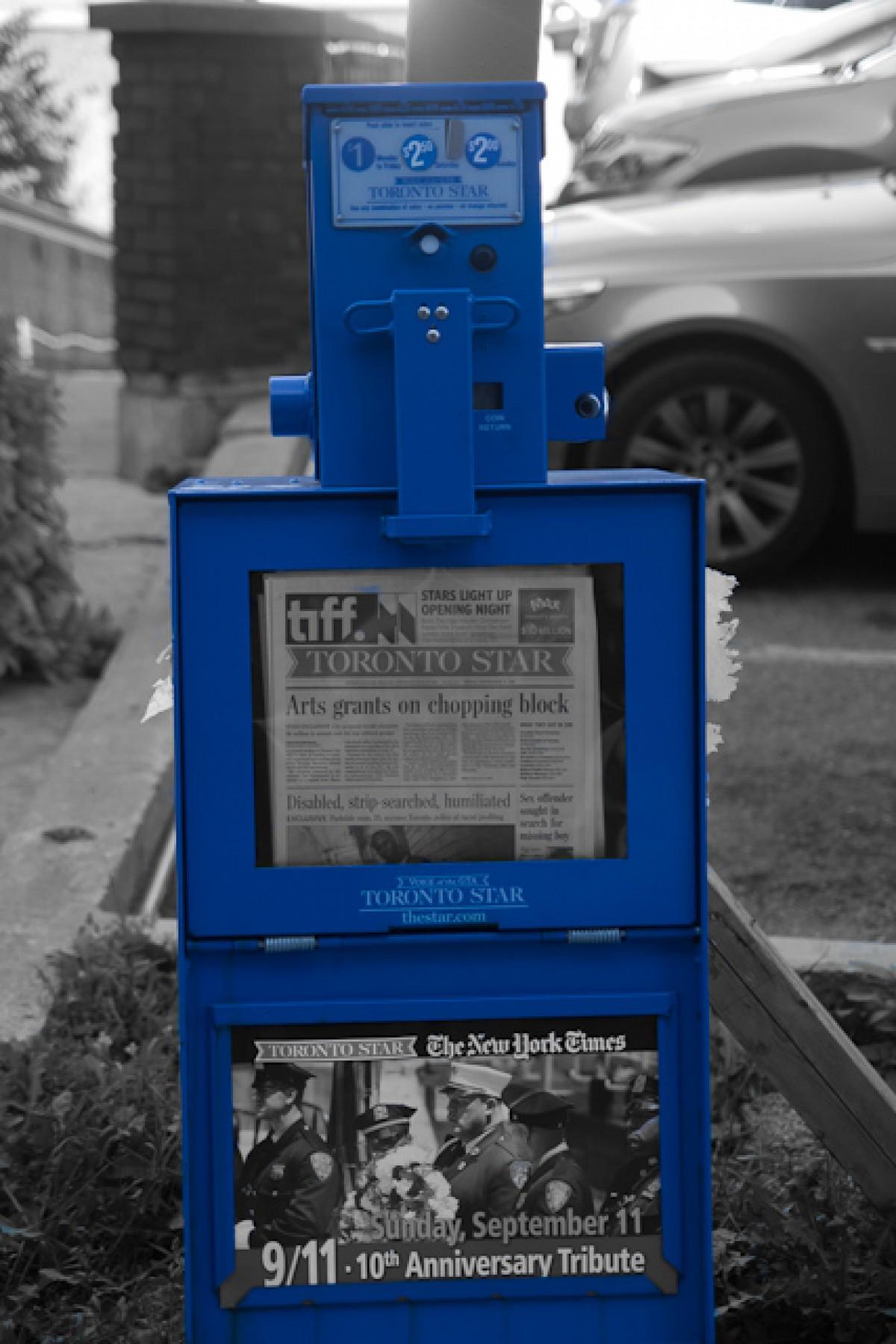 POTD day 211 Blue Box