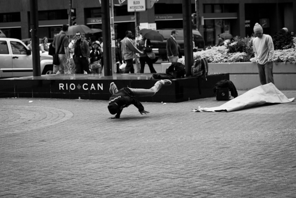 POTD day 219 Break Dancing