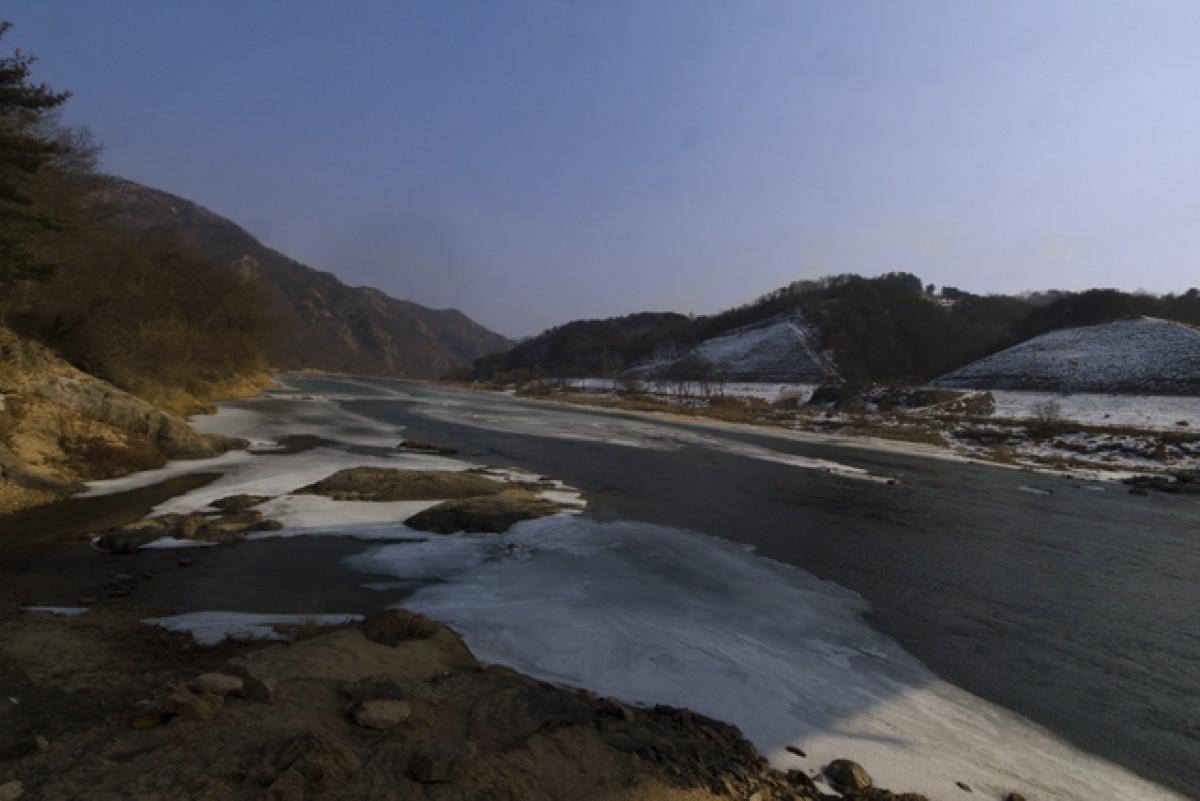 POTD day 34 frozen stream