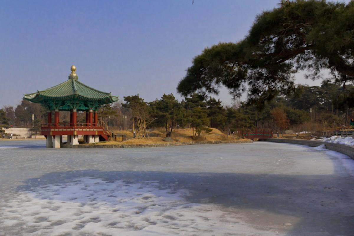 POTD day 36 Cheongjajeong pavilion