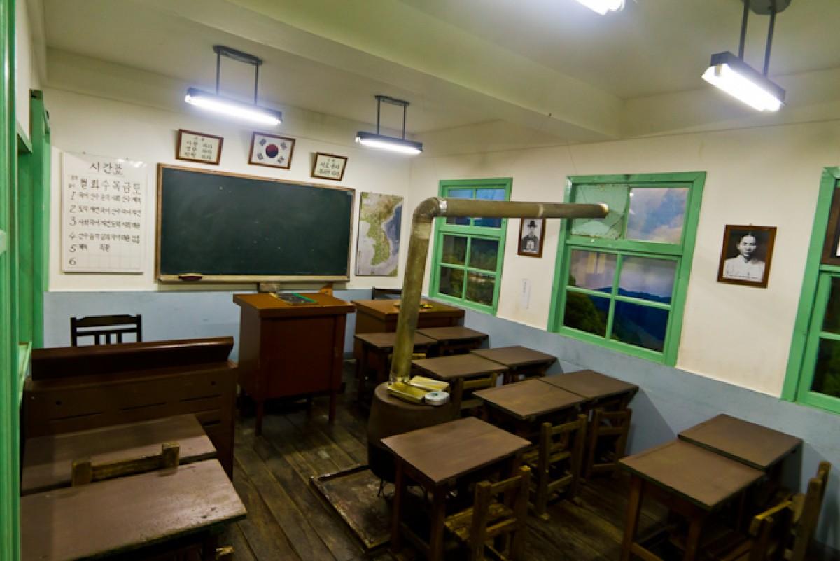 POTD day 38 Replica School Room