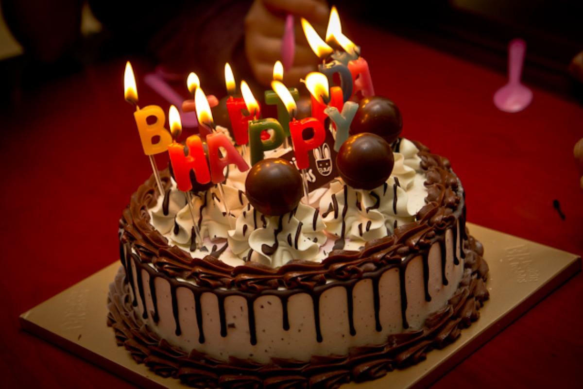 POTD day 50 Birthday Cake