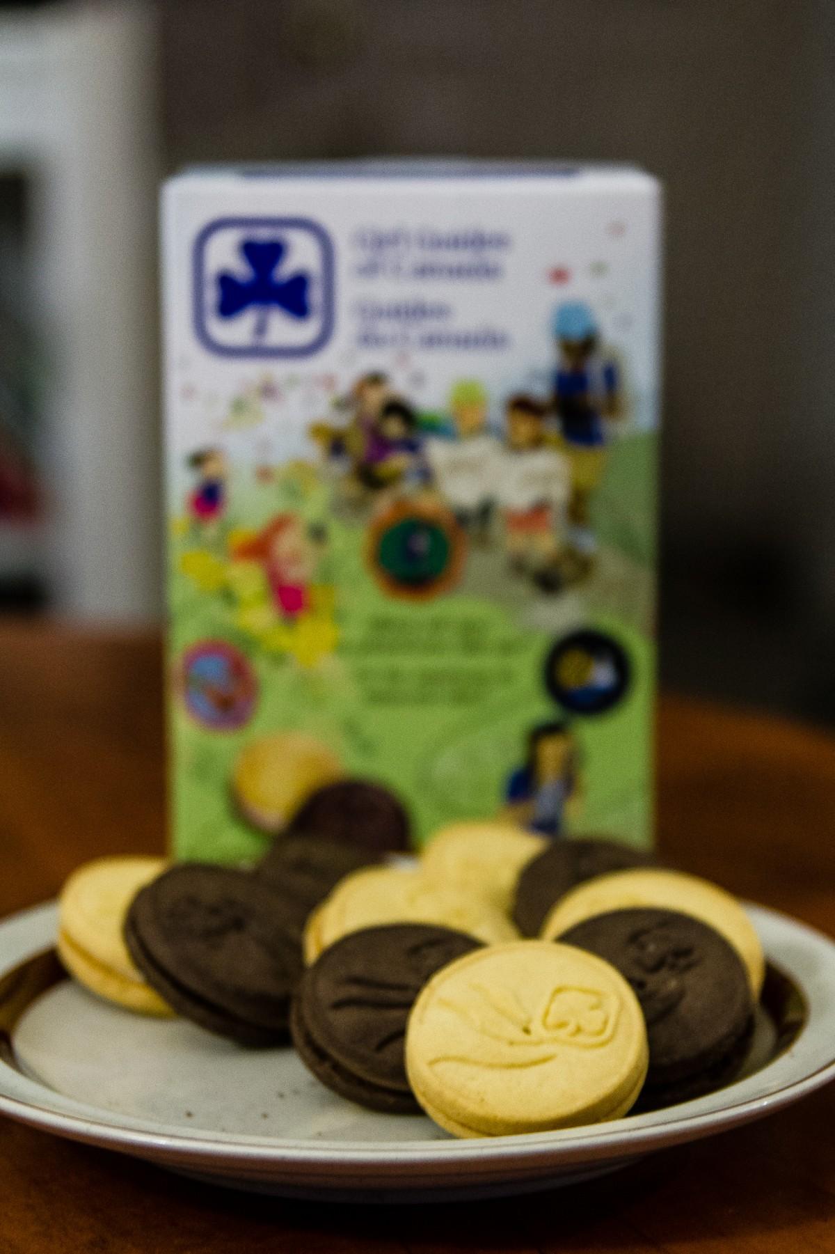Girl Guide Cookies