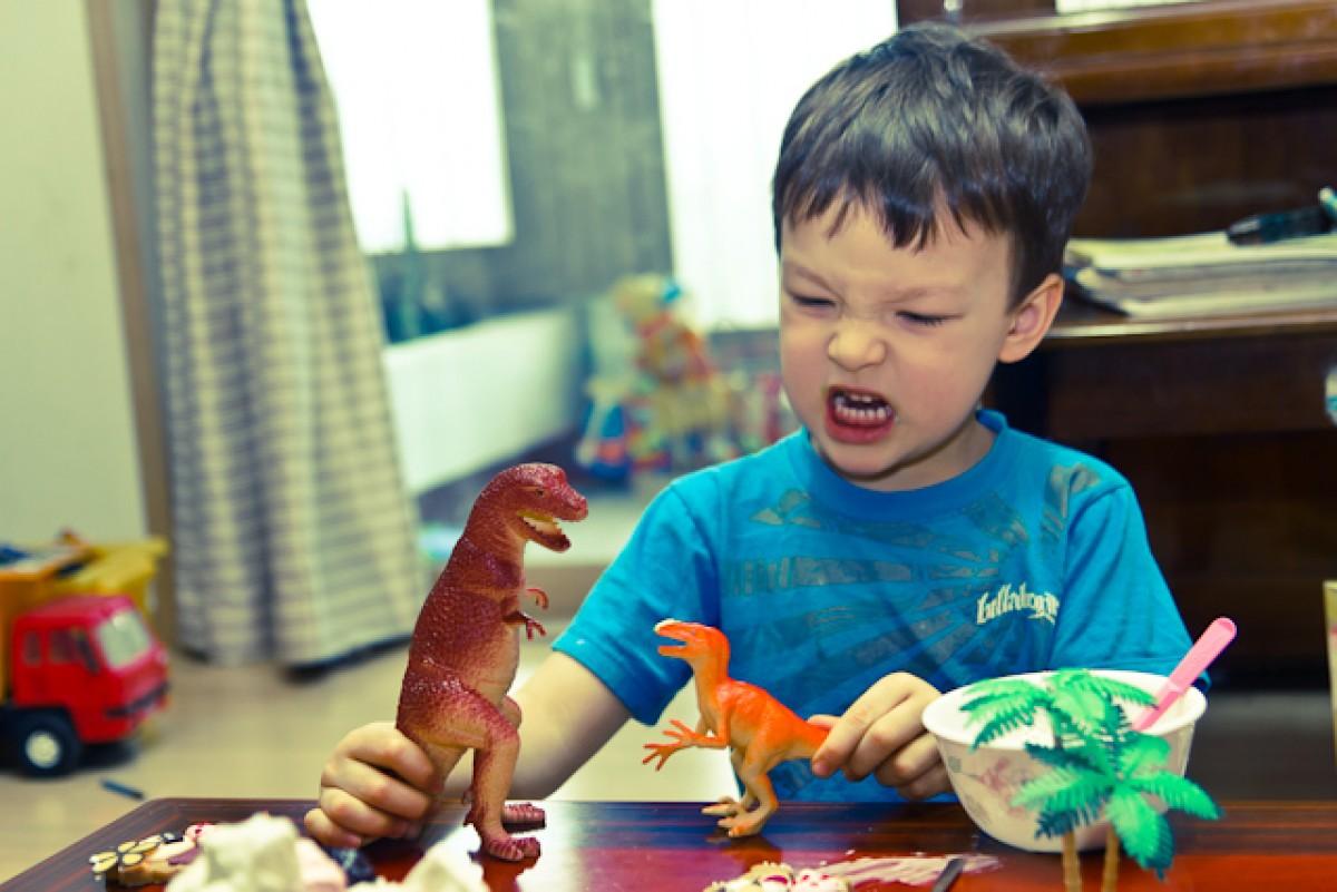 POTD day 58 Dinosaur Sounds