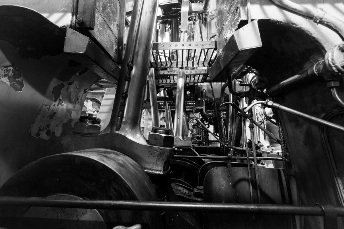 Steamship Engine Room