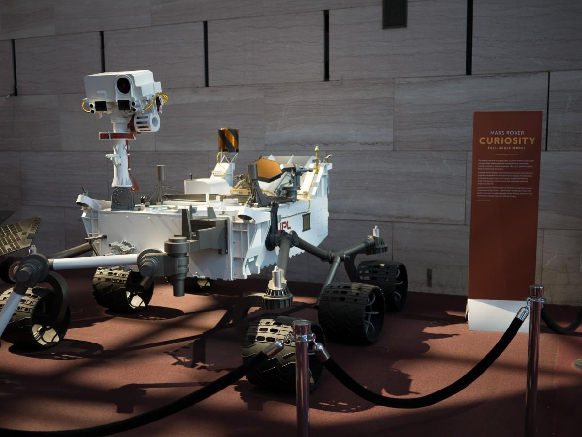Mars Rover Curiousity