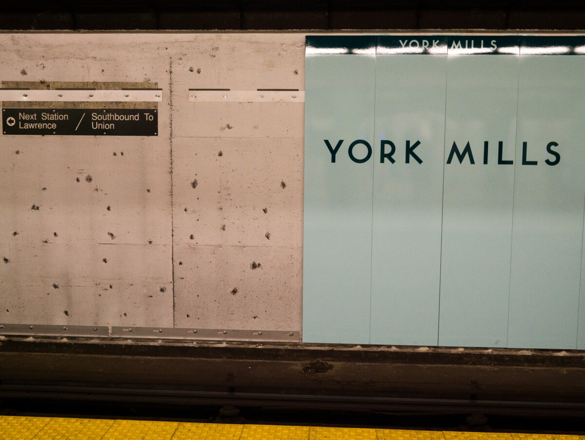 York Mills Station