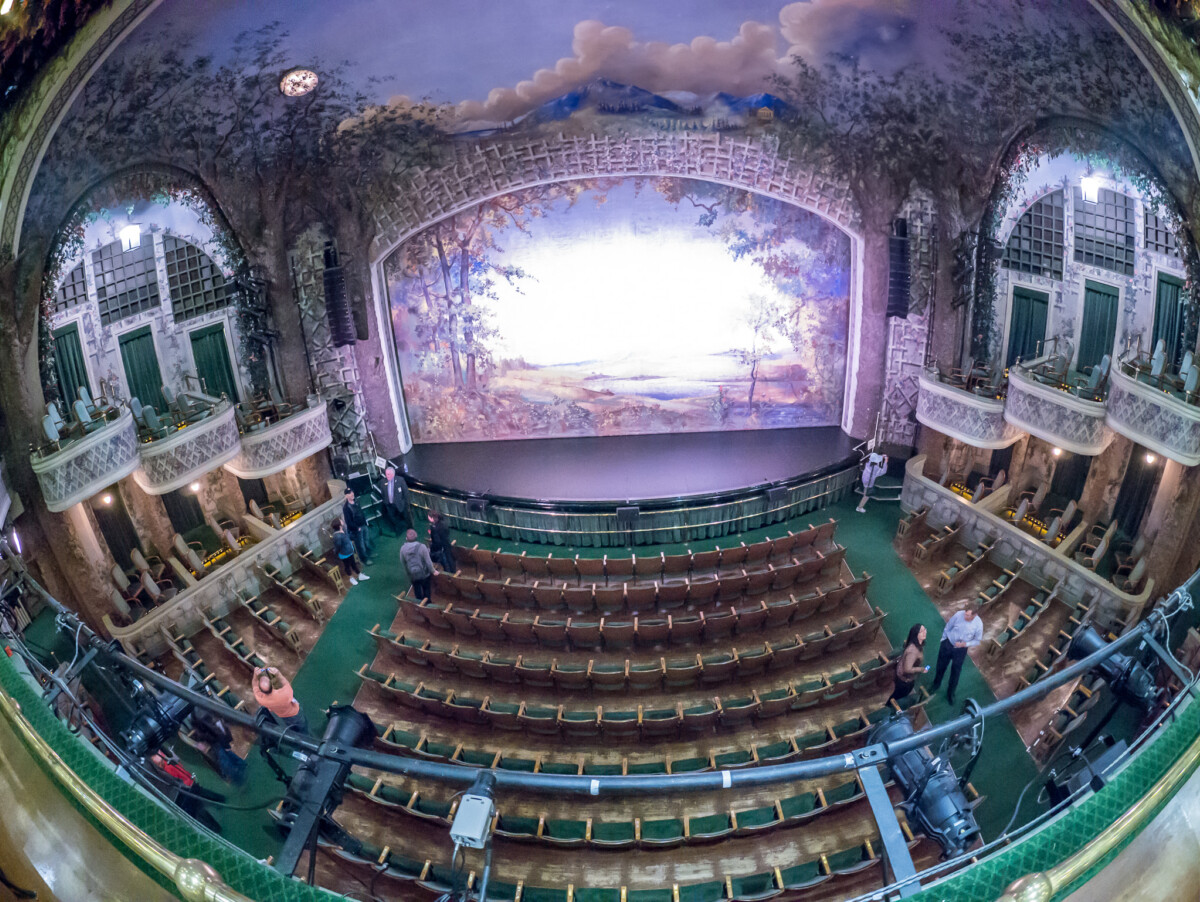 Elgin Theatre Stage