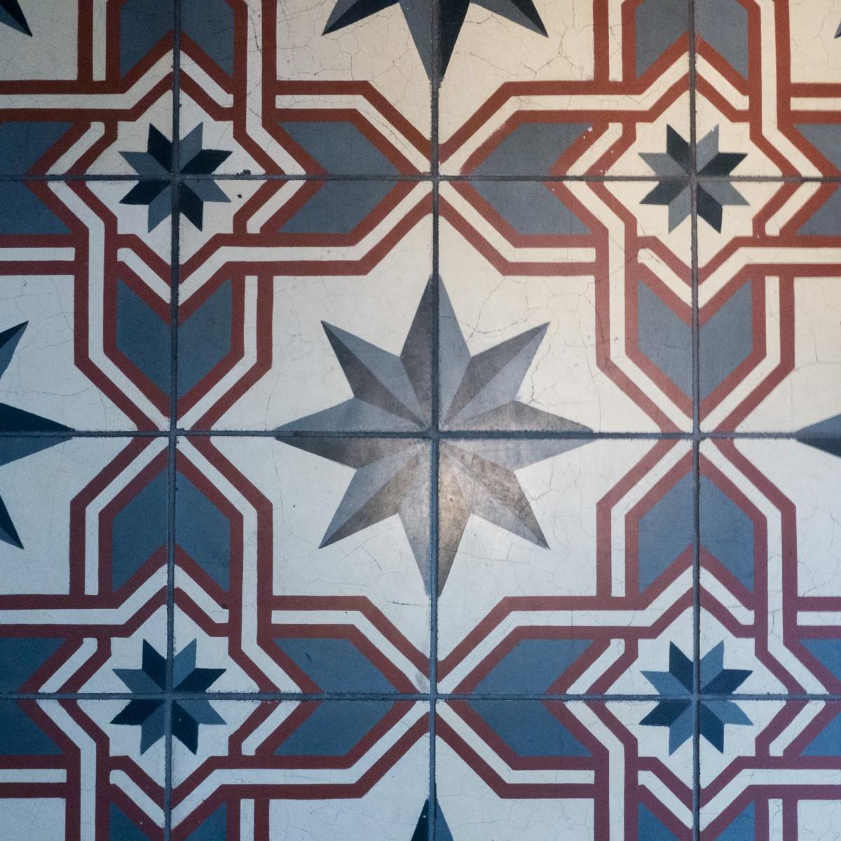 Floor Tiles at Balzac Coffee