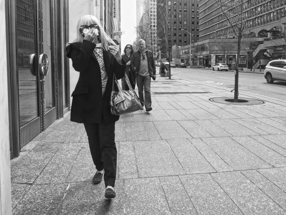 Walking in Mid Town Toronto