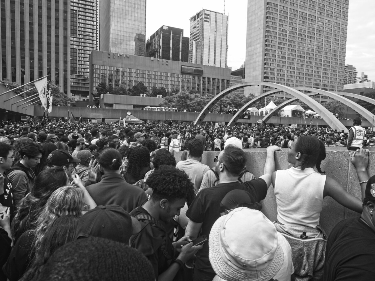 Nathan Phillips is Crowded