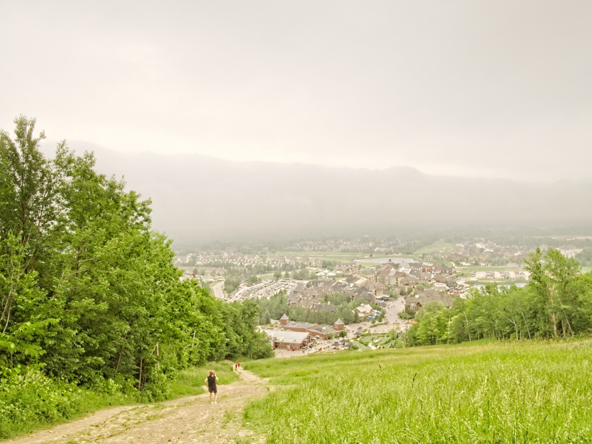 Foggy Blue Mountain Village