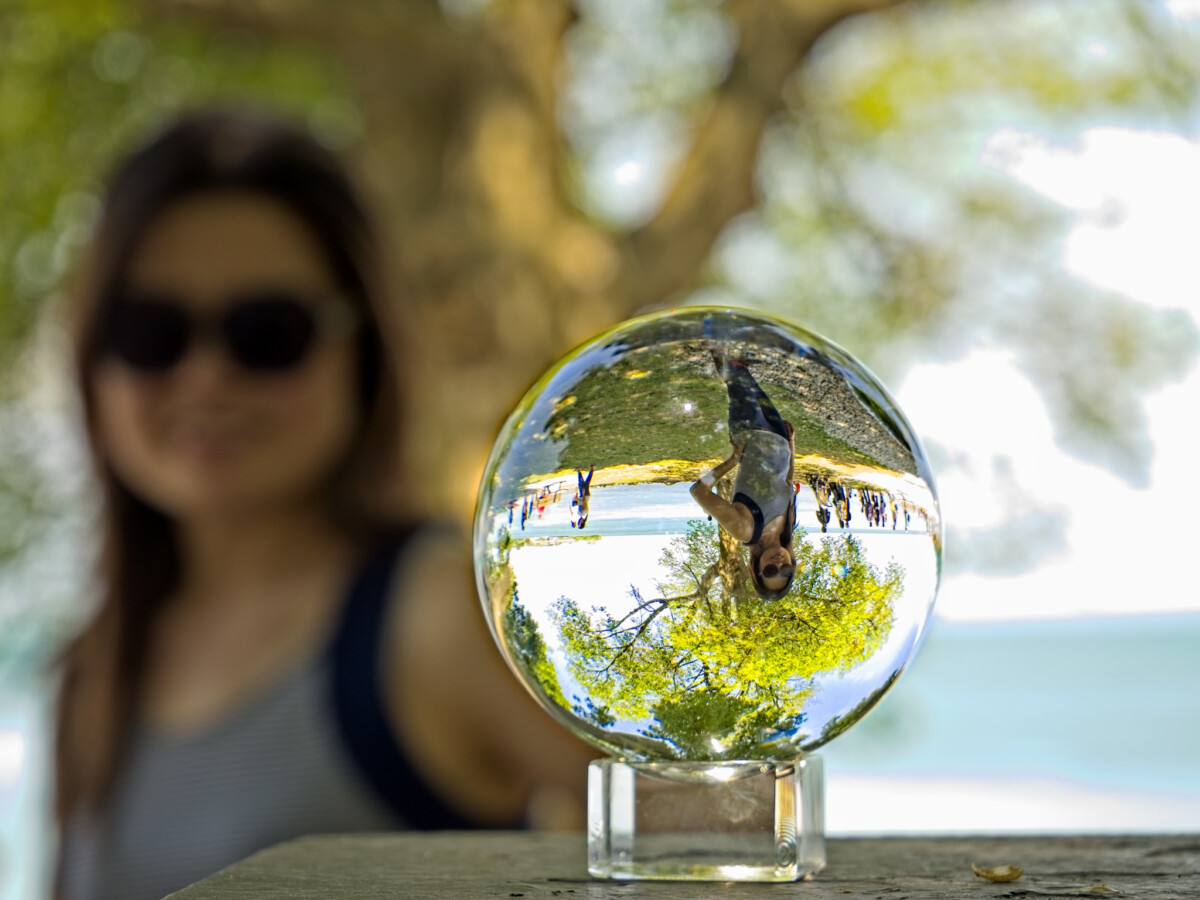 Crystal Ball Portrait