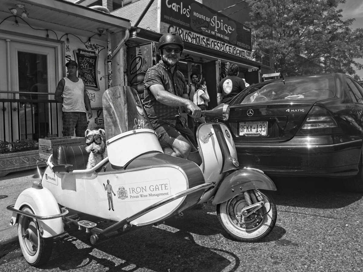 1962 Vespa and Sidecar