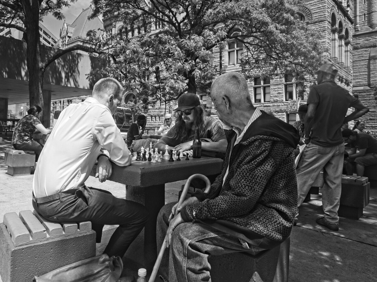 Chess at Nathan Phillips Square