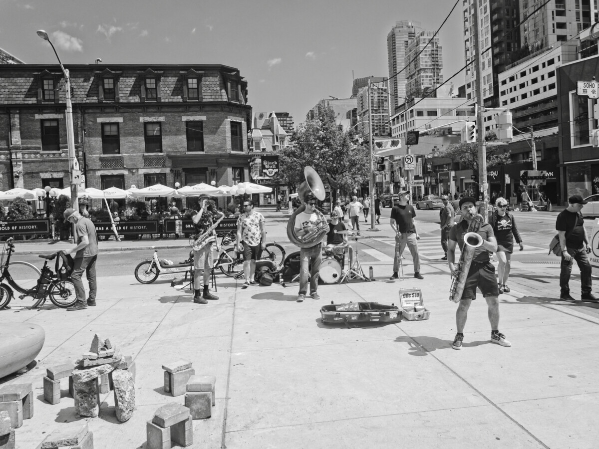 Big Band Buskers