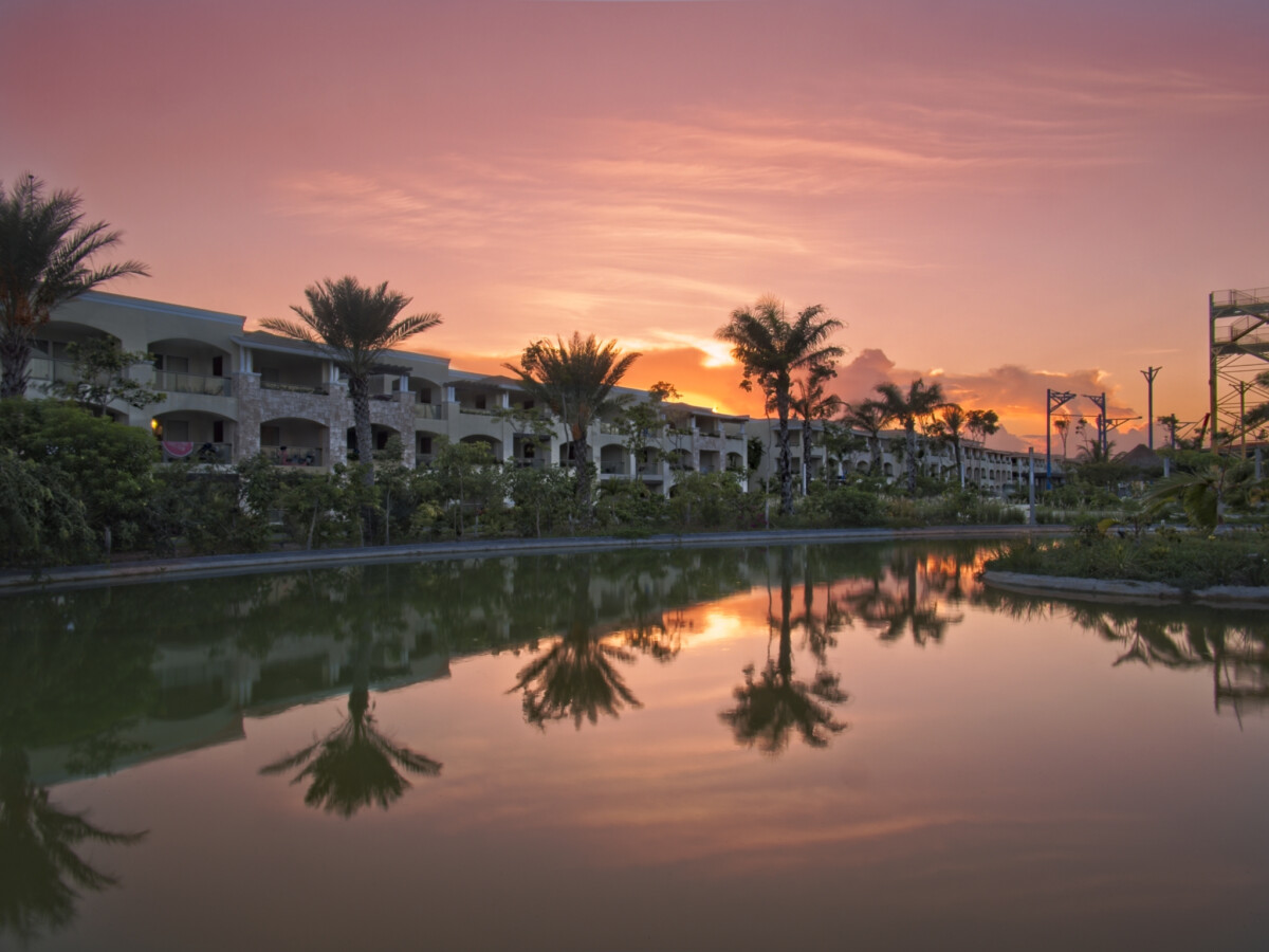Resort Sunset