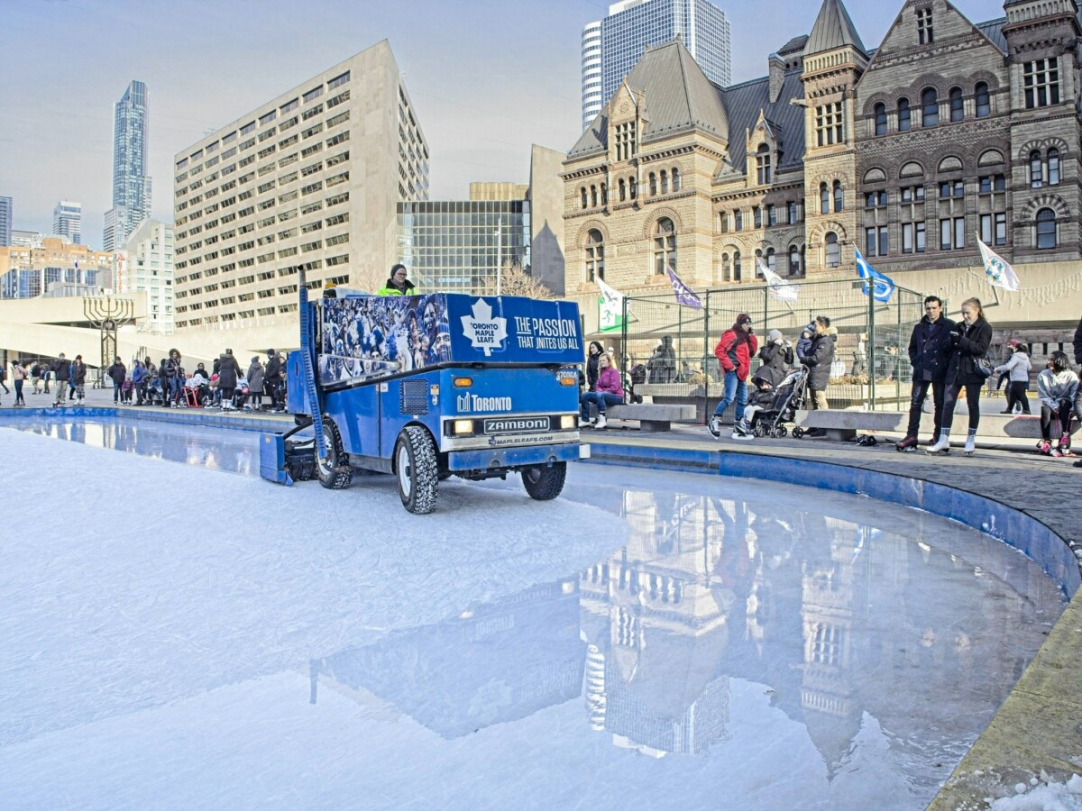 Toronto Maple Leafs Zamboni