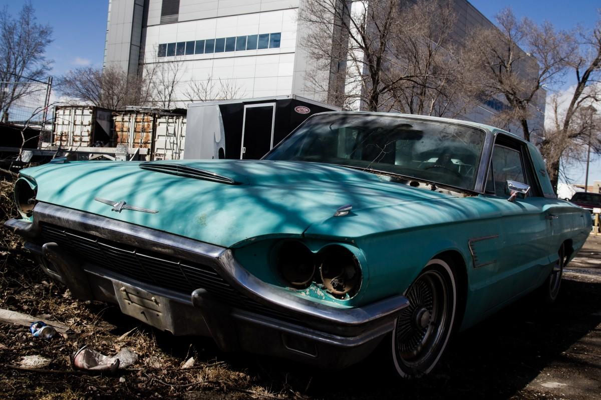Abandoned '65 Thunderbird