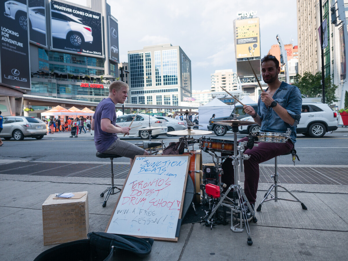 Drumming Up Business