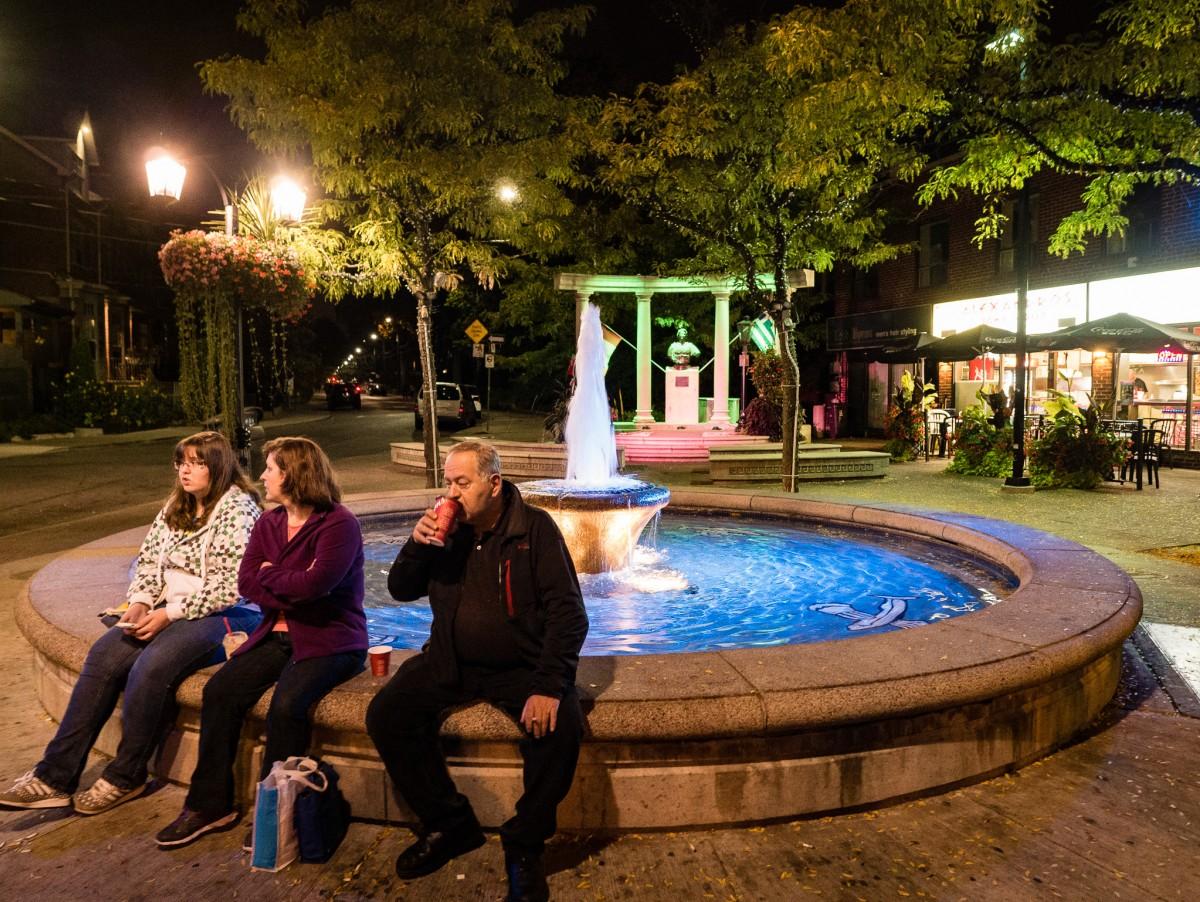 Greek Town Fountain
