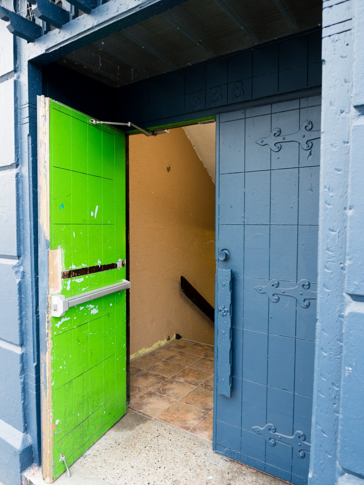 Green Door Blue Door