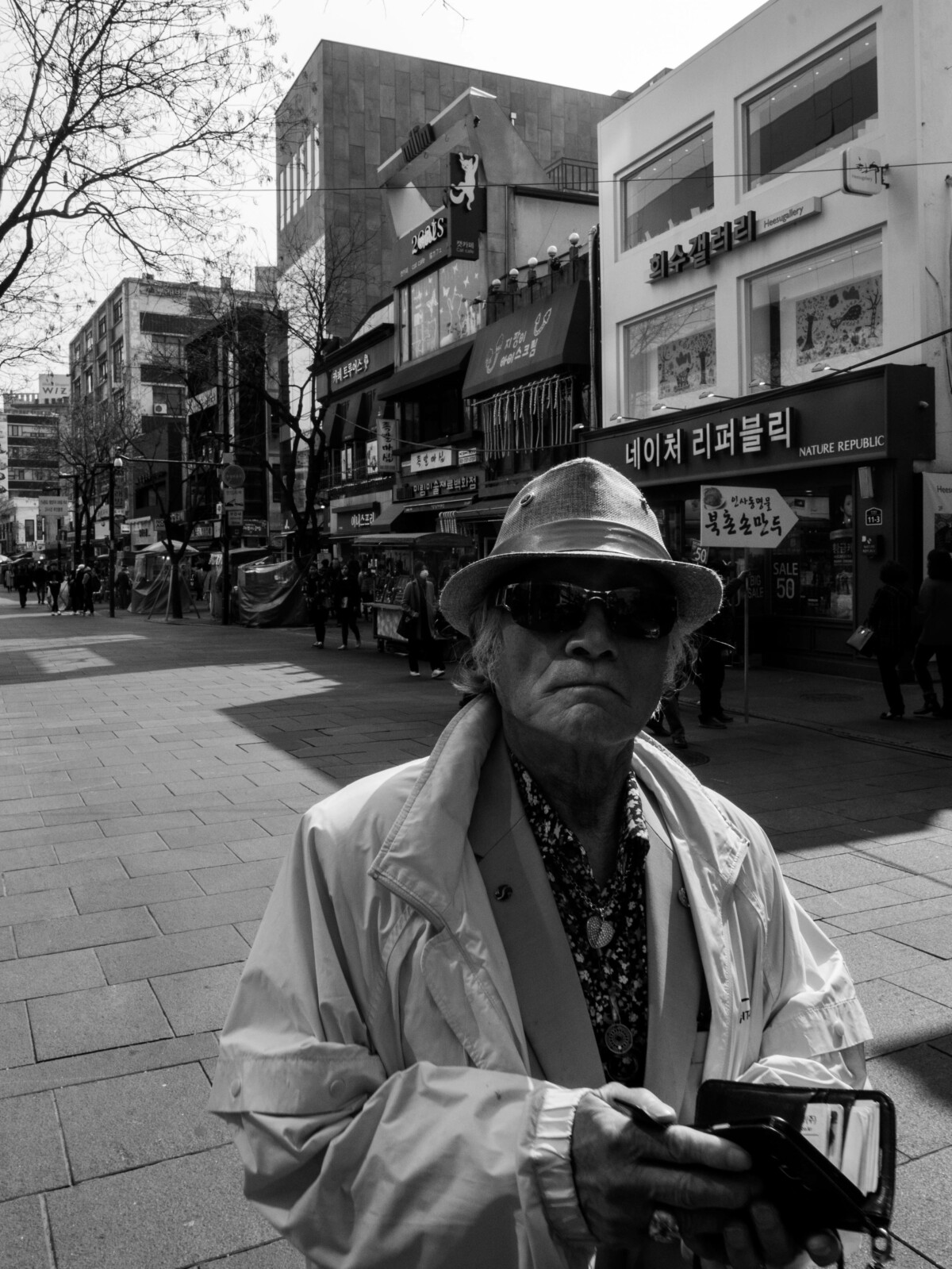 Man in Insadong