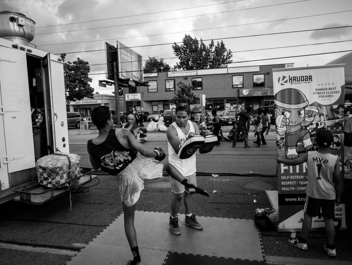 Kickboxing Demo