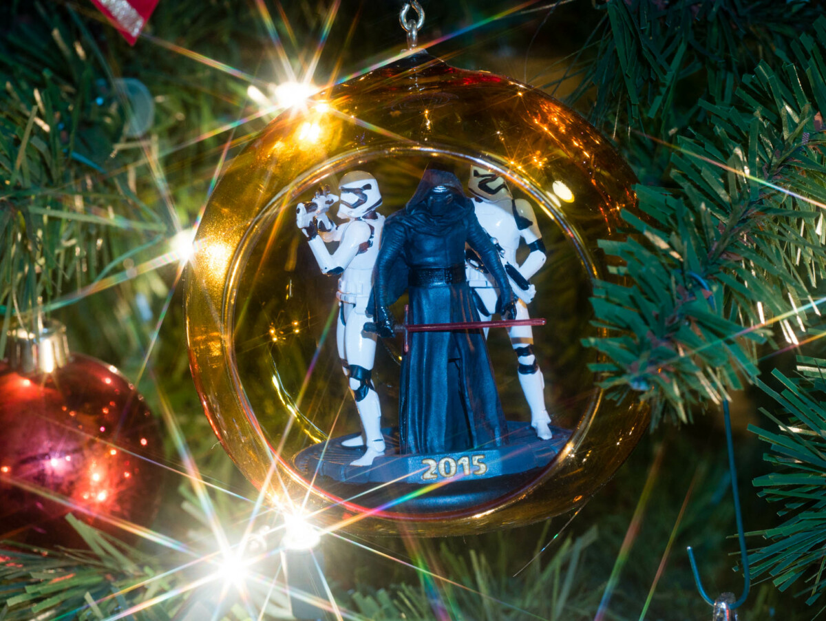 Kylo Ren Christmas Ornament