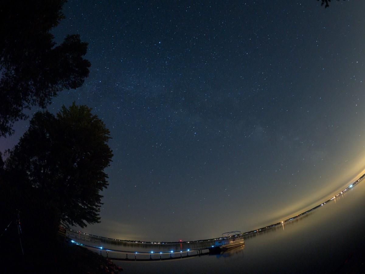 Lake Simcoe and Stars
