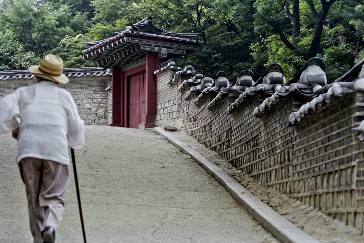 Walking Up Namsan
