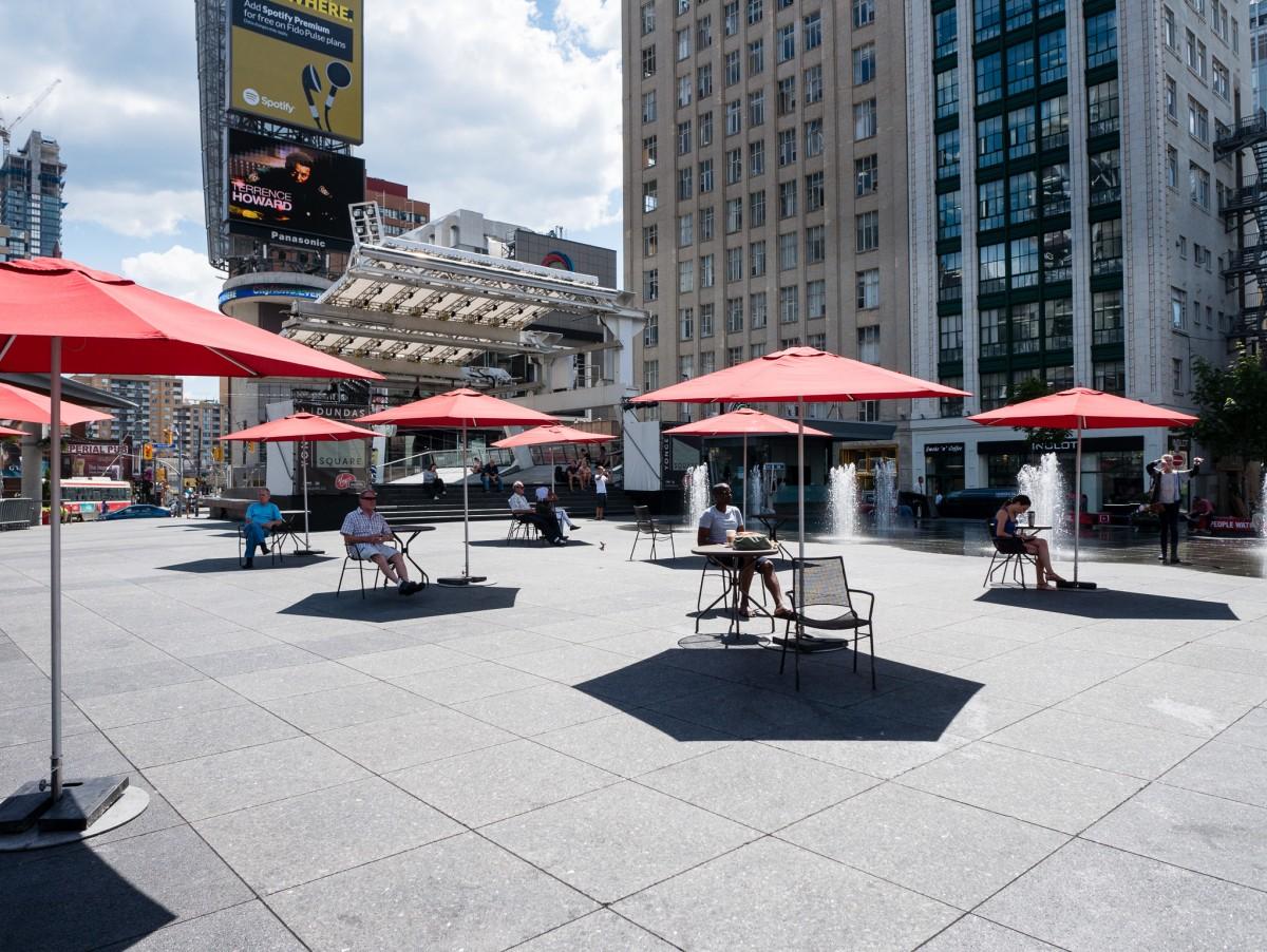 Umbrellas at Noon