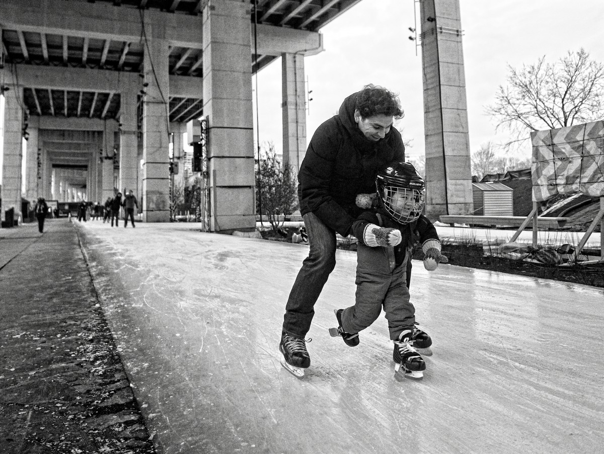 Learning to Skate Under the Gardiner
